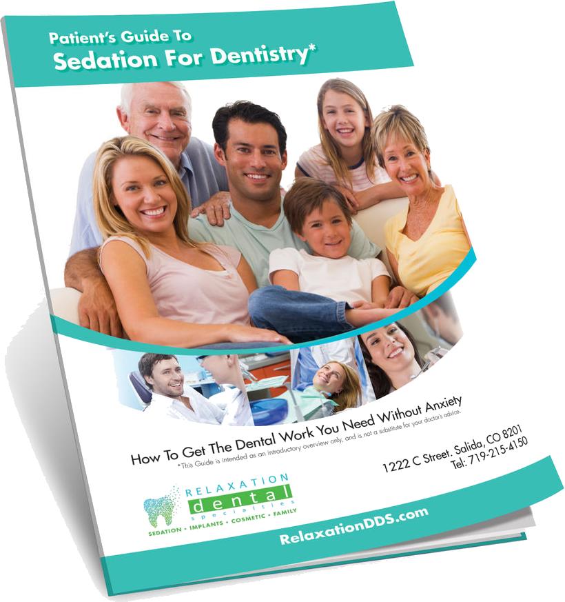 sedation dentistry guide cover